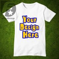 """Kaos Distro lengan Pendek """" Design Sendiri """""""