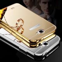 Samsung Note 2 G7100 Aluminum Bumper Mirror Hard Back Case