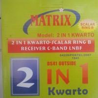 Lnb C Band 2 In 4 Matrix (4 Receiver)