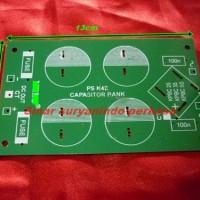 PCB power supply 4 elco MIC, Rangkaian
