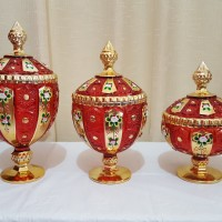 harga Fiori - Toples King Kristal Matahari Merah - KK920MK -KK922MK Tokopedia.com