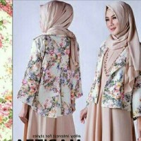 Harga longdress maxi baju muslim pesta model baru   Pembandingharga.com