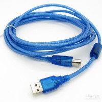 KABEL USB PRINTER 3M / 3 METER / 3 M GOOD QUALITY