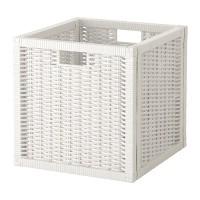 IKEA BRANAS Kotak Keranjang Rotan 32x34x32 cm