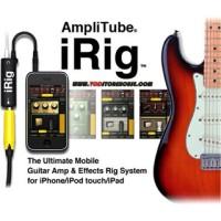 IRIG Amplitube untuk efek gitar/bass via iphone dan android