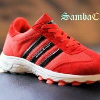 harga adidas samba classic red black sport sneakers running casual Tokopedia.com