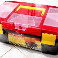 TOOL BOX KENMASTER K410 / TOOLBOX ALAT / TEMPAT PERKAKAS DAN KOMPONEN