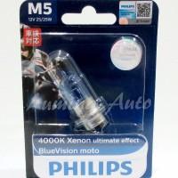 harga Philips Bluevision Moto M5 / Lampu Motor Bebek Kaki 1 Blue Vision Tokopedia.com