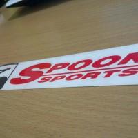 Sticker spoon sport