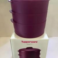Tupperware Pengukus Steam It Purple / Ungu