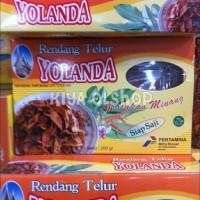 Rendang Telur 200 gram YOLANDA / Randang Talua Khas Padang