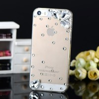 LUXURY Hand Made 3D Phone Cases IPHONE 5 5S BIG Crystal Rhinestone