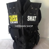 (TURN BACK CRIME)Rompi SWAT/Protector SWAT /Vest SWAT TURN BACK CRIME