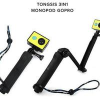 Tongsis Monopod 3in1 untuk GoPro / Yicam