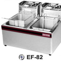 Ef-82 Electric Deep Fryer (Alat Penggorengan Listrik) 2 X 5,5 Liter