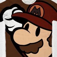 harga Kaos Super Mario Bros Anak / Dewasa - Mario Brown Tokopedia.com