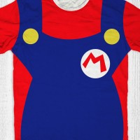 harga Kaos Super Mario Bros Anak / Dewasa - Mario Costume Tokopedia.com
