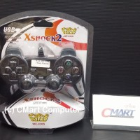 Welcom Gamepad Single Dual X Shock 2 Controller USB - WLC-WE-830S