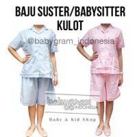 harga Baju Suster / Seragam Babysitter Celana Kulot Tokopedia.com