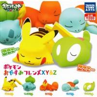 Pokemon XY&Z Oyasumi Friends Figures 5/set Takara Tomy Japan