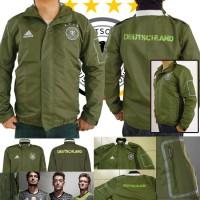 harga Jaket Jerman Germany Pocket Green Army Parasut Euro 2016 with 3stripes Tokopedia.com