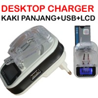 LCD Dekstop Charger Usb
