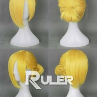 Wig Annie Leonhart AOT shingeki no kyojin RULER cosplay import