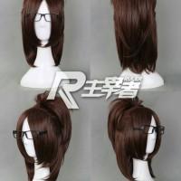 Wig Hanji Zoe AOT shingeki no kyojin RULER cosplay import wig