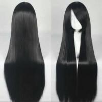 Wig Base long 80cm Black Mitsuki Nase/ Mio RSW cosplay import wig