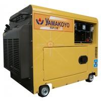 Generator Silent/Genset Silent rumah ATS Yamakoyo 5kva 5GFLD-E 4500w