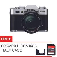 Fujifilm Kamera Mirrorless Fuji X-T10 18-55mm - Silver