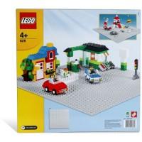 Toys LEGO X-Large Gray Baseplate 628