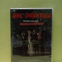 ONE DIRECTION - WHERE WE ARE LIVE FROM SAN SIRO STADIUM ( DVD )