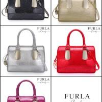 Furla Candy Glitter Handle bag Hardware GOLD like Ori