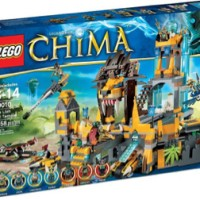 Toys LEGO Chima The Lion CHI Temple 70010