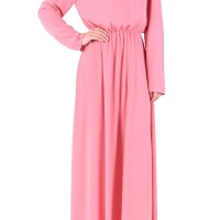 Baju Fashion Wanita Long Dress Import Keren Feminin Modis