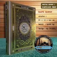 Al Quran dan Terjemahnya Cover Emas - Darul Haq - Karmedia