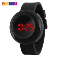 Skmei Casual Unisex Watch Water Resistant 30m - 1138a - Black