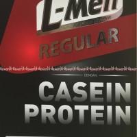 Susu L-Men Regular Casein Protein Chocolate Hazelnut Susu LMen Coklat