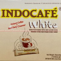 Indocafe White Instant coffee Non dairy Kopi Instant White