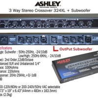 Crossover aktif Ashley 324 Xl (4 Way)