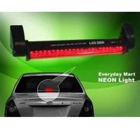Lampu Rem Tambahan Kaca Belakang Batang 48 Led Adjustable