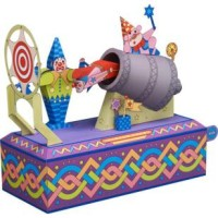 [MovingToys] CLOWNS OUT OF A CANNON Toys Papercraft