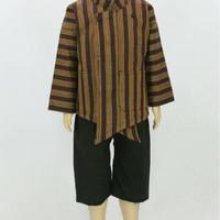 Baju Surjan setelan/ Lurik anak-anak/Batik adat Jawa