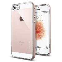 Spigen iPhone SE/5S/5 Case Neo Hybrid Crystal Rose Gold 041CS20183