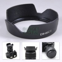 EW-60C II Flower Lens Hood for Canon EF-S 18-55mm F3.5-5.6 IS USM