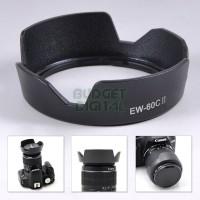 EW-60C II Flower Lens Hood for Canon EF-S 18-55mm F3.5-5.6 IS USM