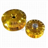 Tromol Set Mio X Ride 115 Cc Gold (Depan + Belakang)