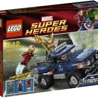 Lego 6867 Loki's Cosmic Cube Escape Marvel Avengers Hawkeye Ironman