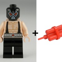 Part Out Lego 6860 Bane + Dynamite